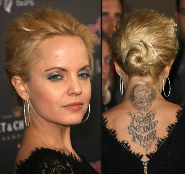 Cool Celebrity Tattoo designs