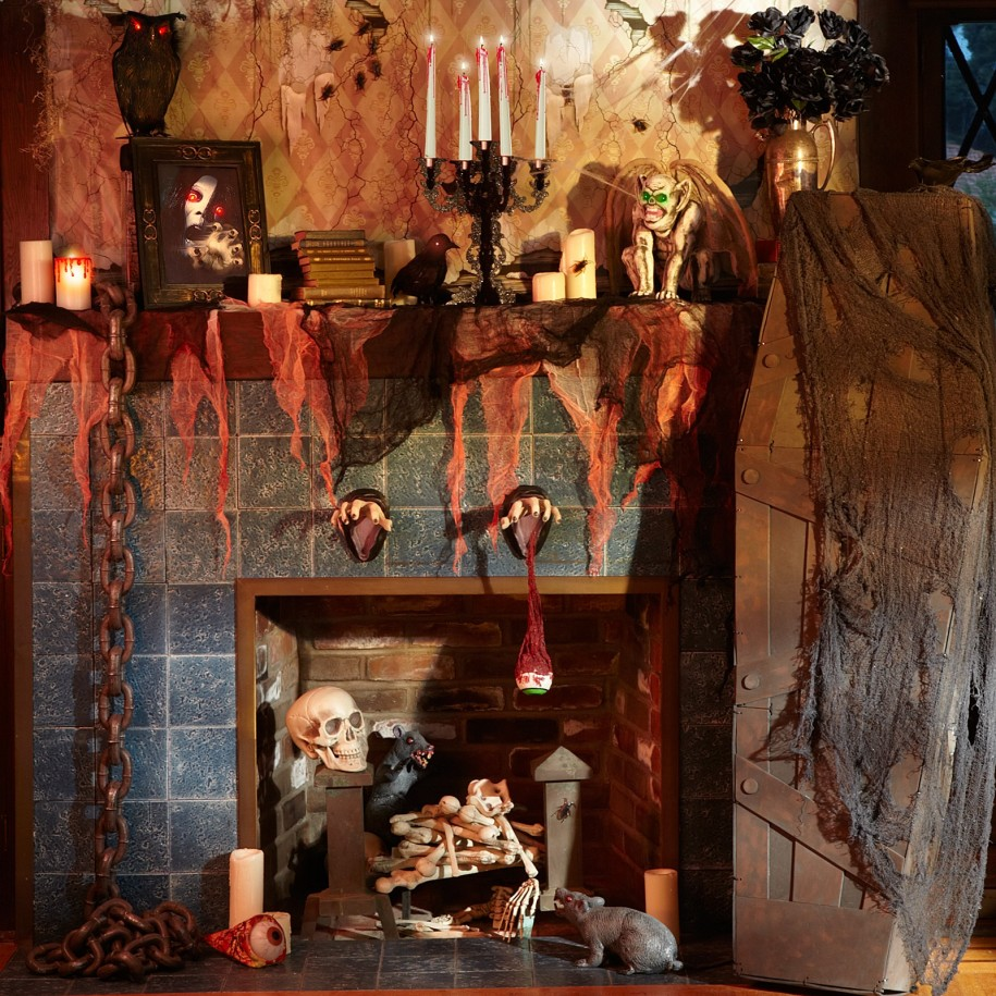 Cool Rustic Halloween Decor Ideas
