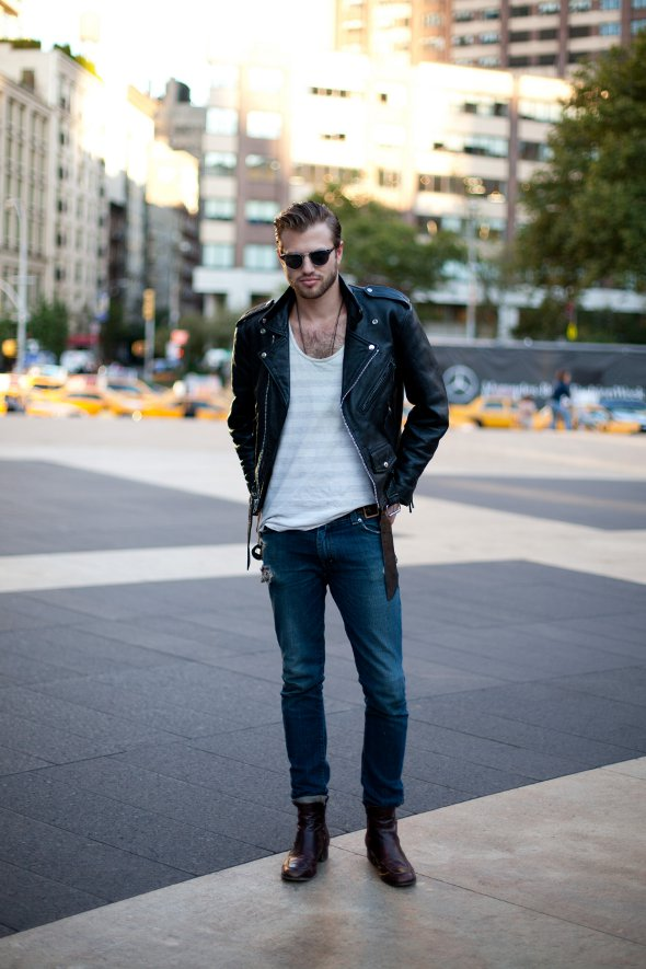 Mens Casual Street Style