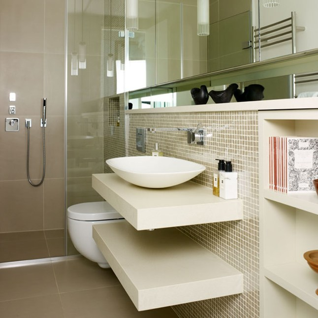 11 awesome type of small bathroom designs for Bathroom interior design kerala