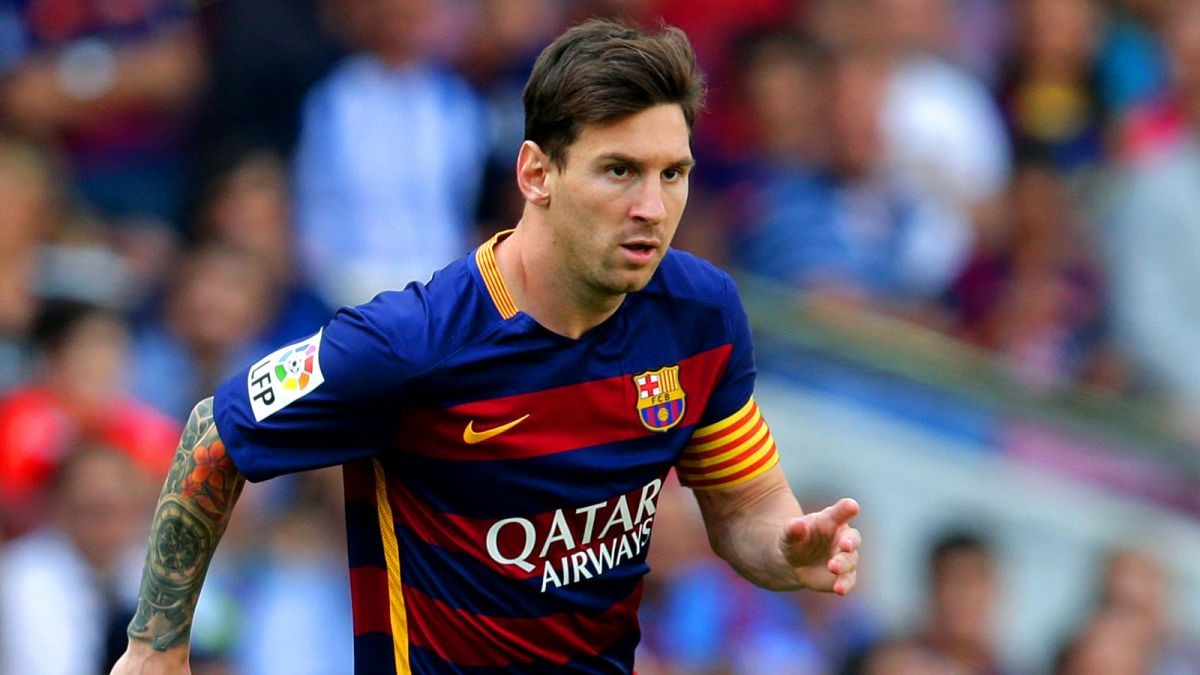 Lionel Messi On The Field