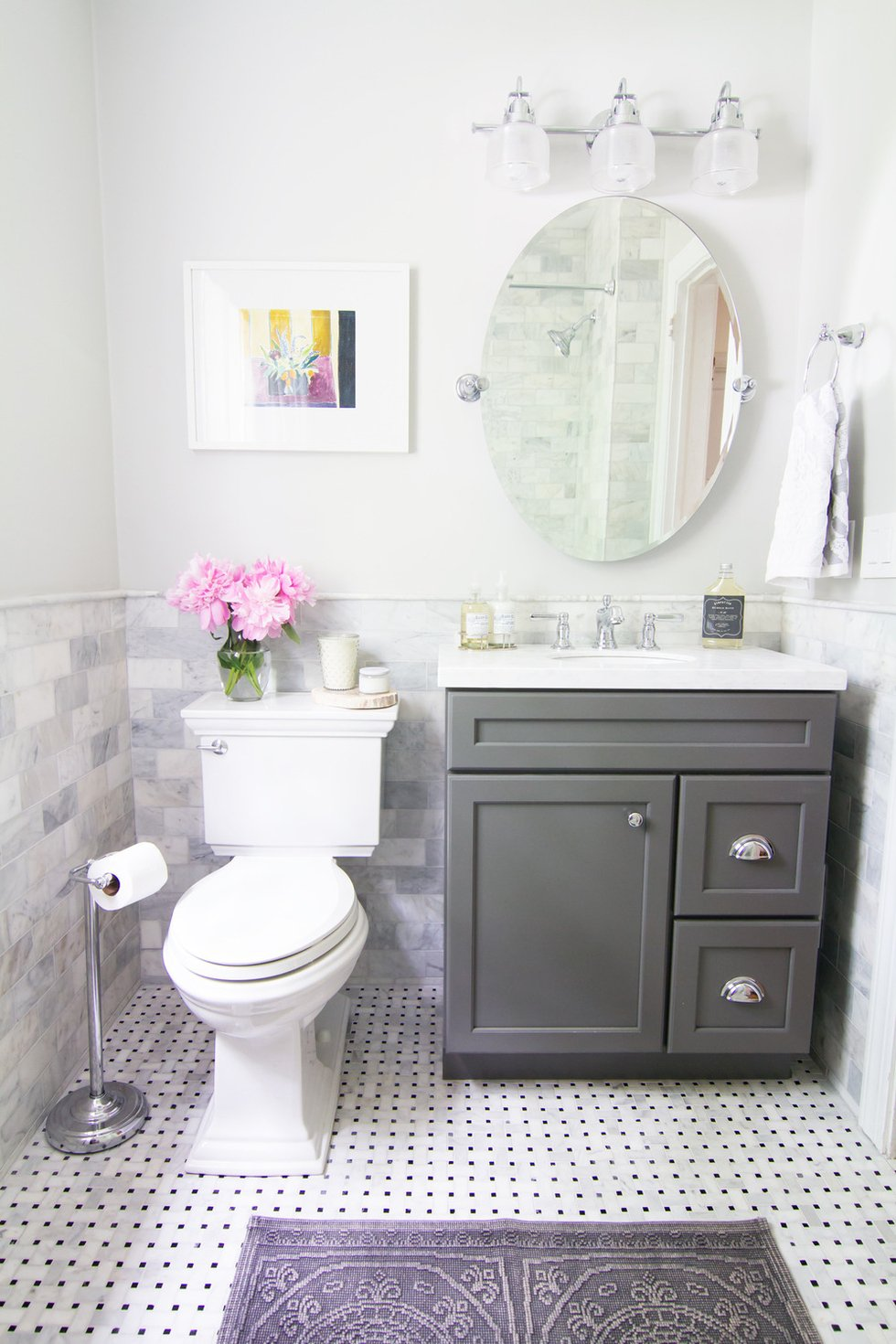 11 awesome type of small bathroom designs for Small restroom ideas