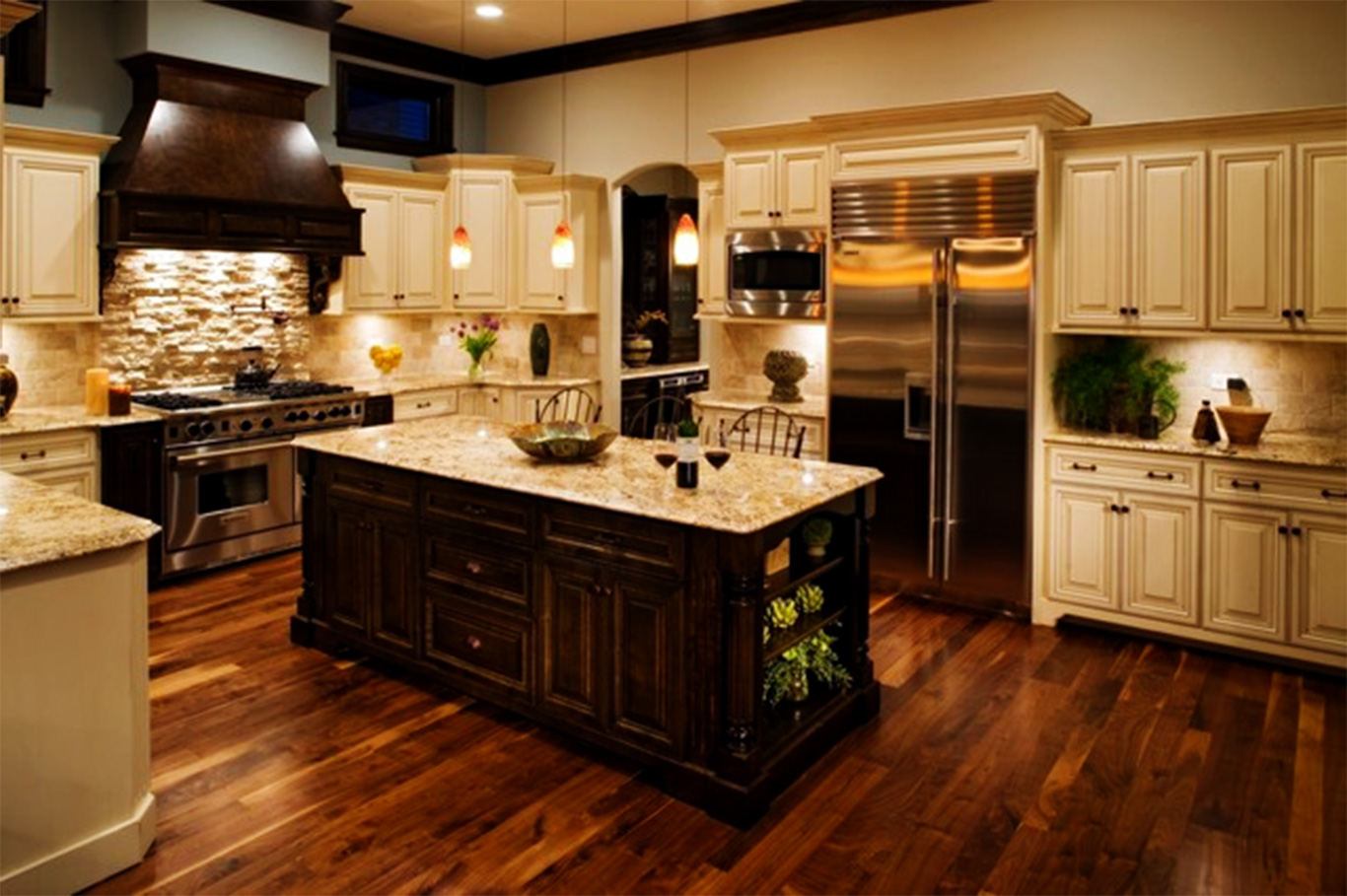 11 awesome type of kitchen design ideas for Kitchen floor remodel ideas