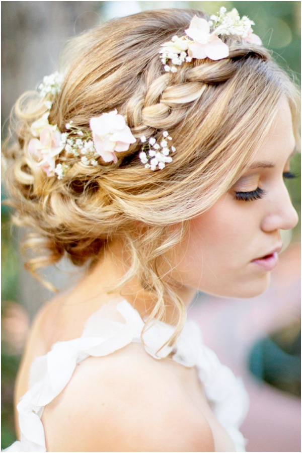 boho-updo-hairstyle-with-flowers