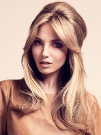 Coloured Long Hairstyle