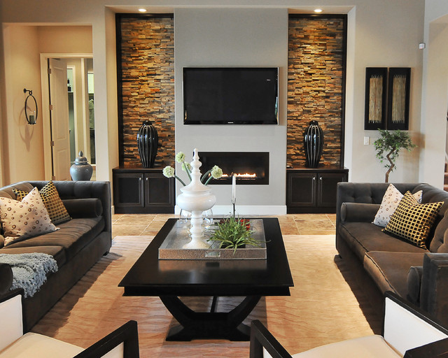 Contemporary Living Room Decor Ideas