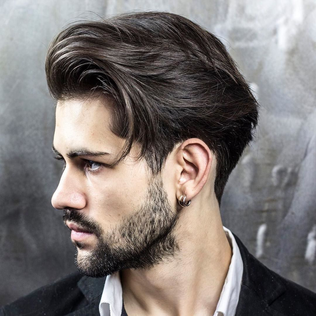Long And Lovely Hairstyle For Men