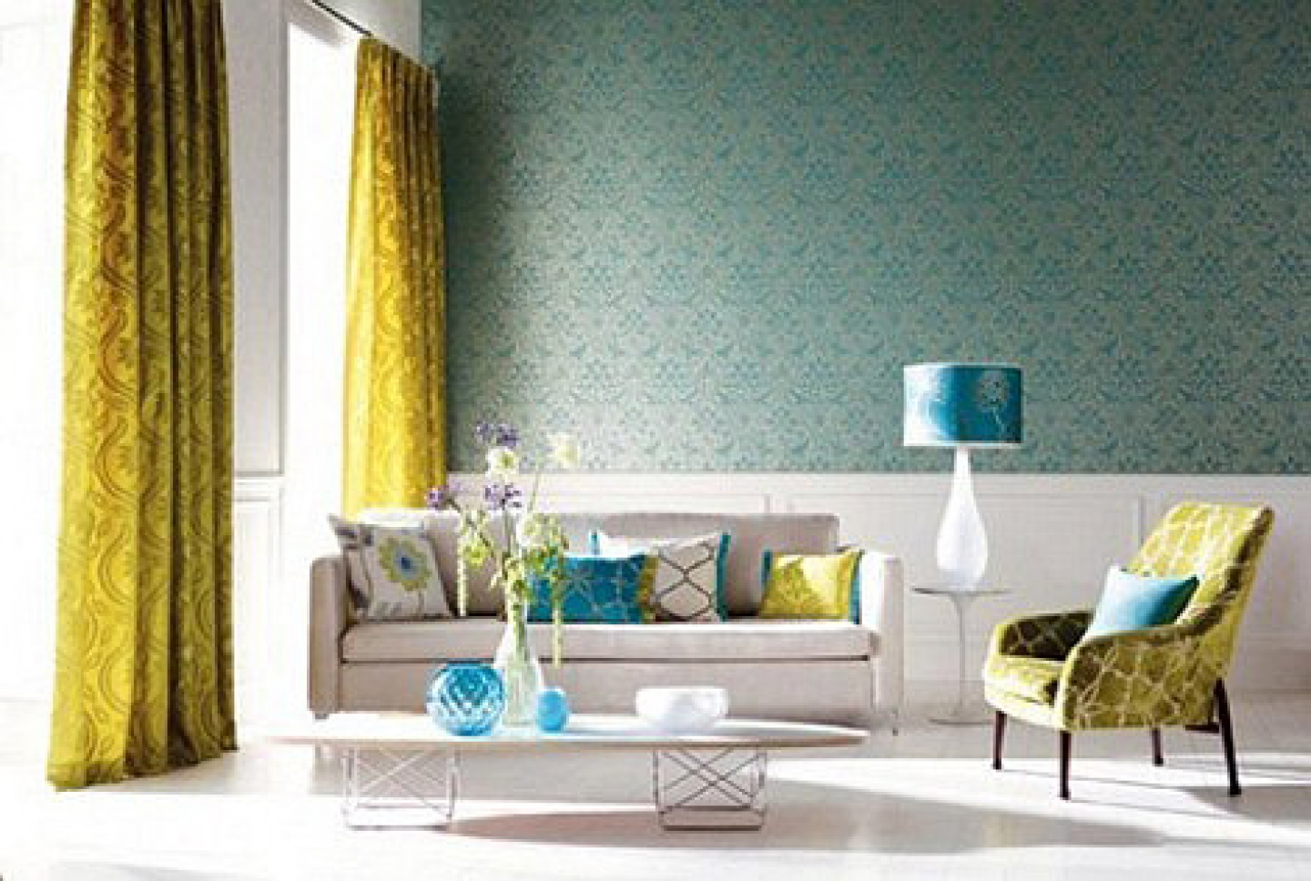 Living Room Home Deocr 11 awesome and beautiful home decor inspirations teal yellow living room