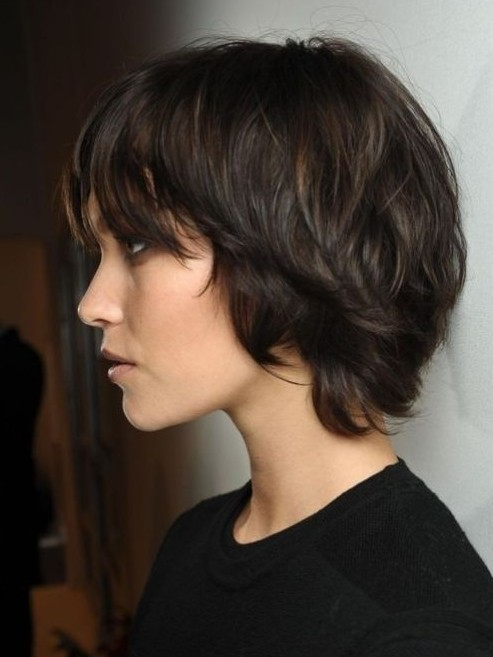 Cute Easy Short Hairstyle