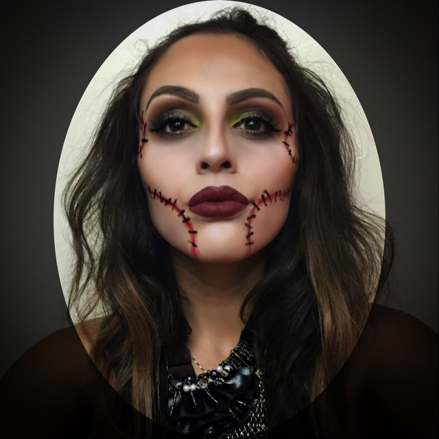 11+ Awesome And Easy Halloween Makeup Ideas - Simple Halloween Makeup