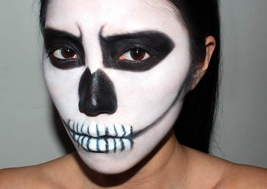 Last Minute Easy Halloween Makeup