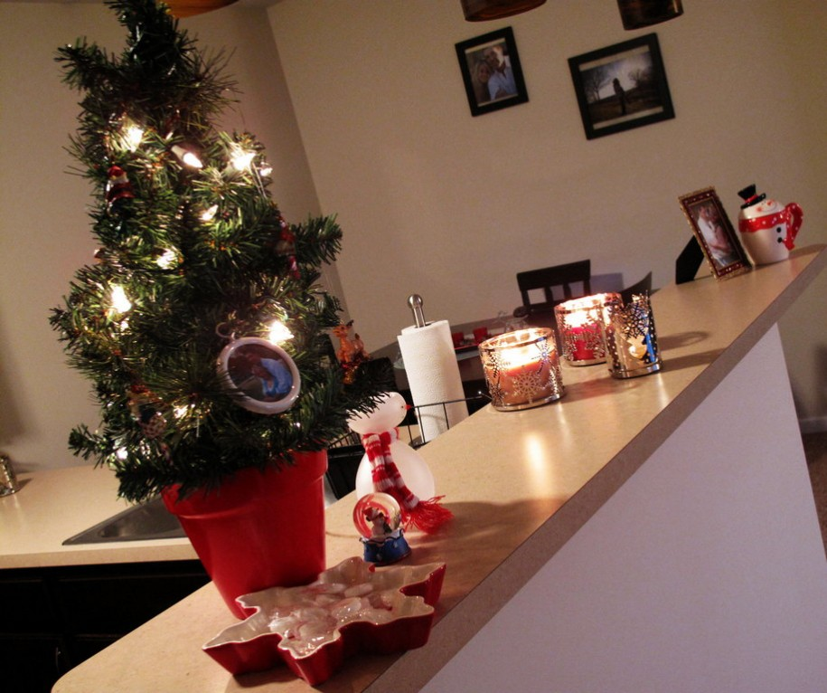 apartment-christmas-decorations-for-counter-table