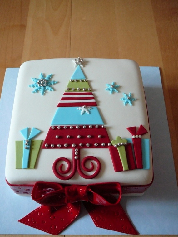 Unique Christmas Cake Decorating Ideas : 11 Awesome And Easy Christmas cake decorating ideas