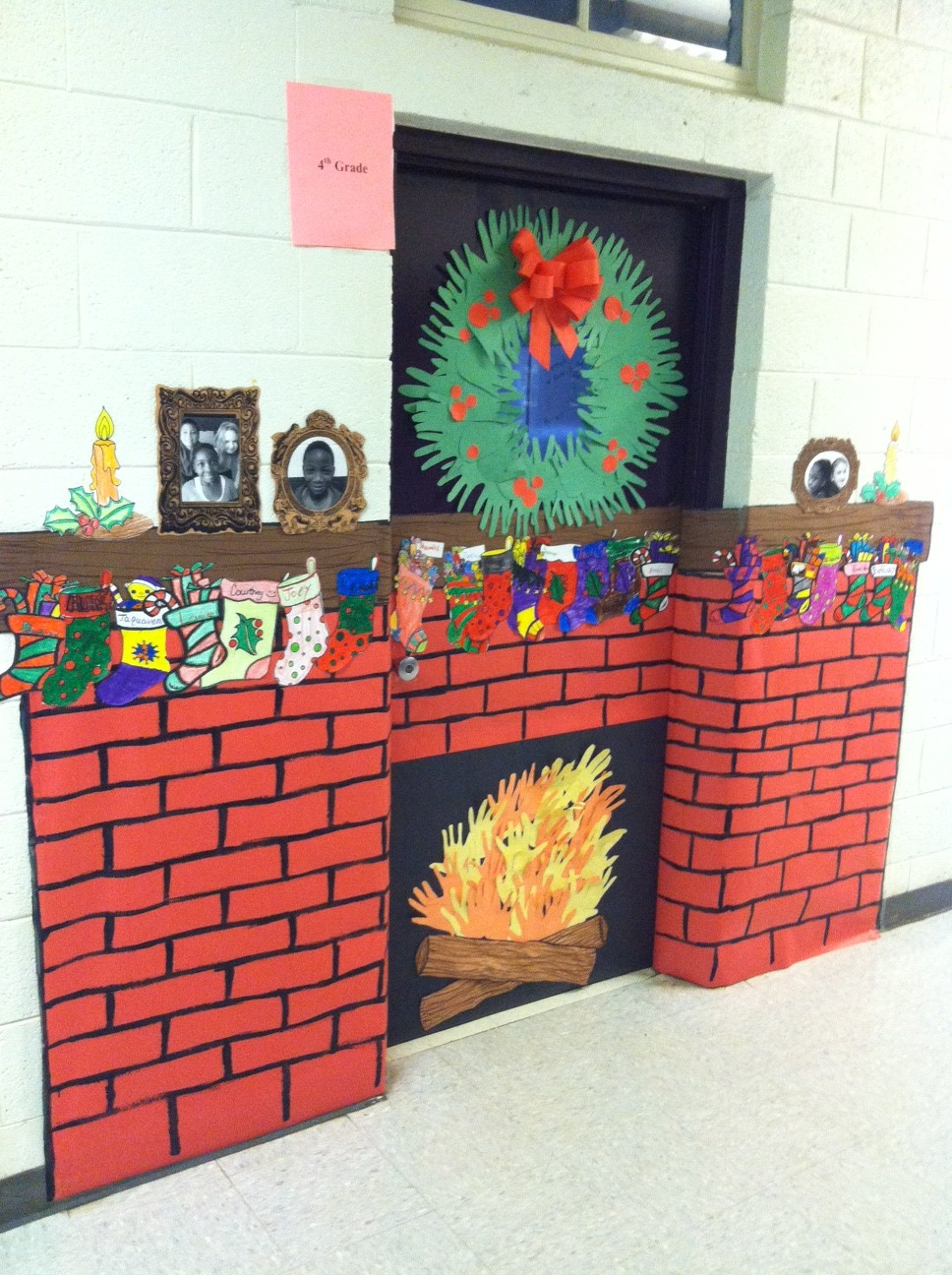 Classroom Xmas Ideas ~ Great christmas door decorations