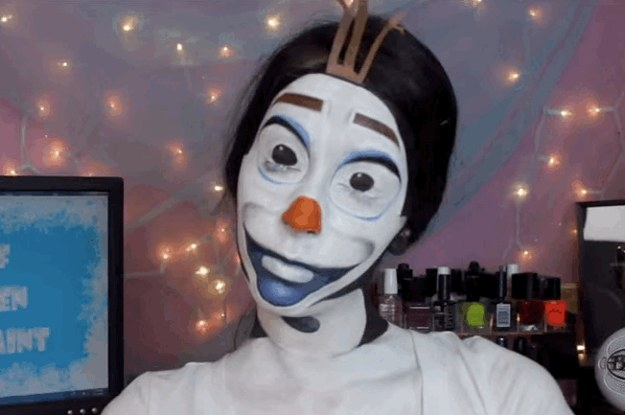 11 Awesome And Cute Halloween Makeup Ideas